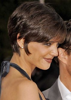 Katie Holmes Hairstyles Custom Short Hairstyles For Straight & Fine Hair  Fine Hair Short