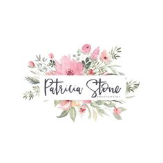 Watercolor Flower Logo - Premade Photography Logo and Watermark Design - Watercolor Logo - Photography or Boutique Logo - Business Branding Watercolor Logo, Watercolor Flowers, Watermark Design, Logo Design, Flower Frame, Flower Art, Florist Logo, Boutique Logo, Photography Logos