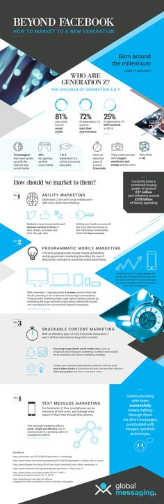 Beyond Facebook (How to market to a new generation) #infographic #socialmedia