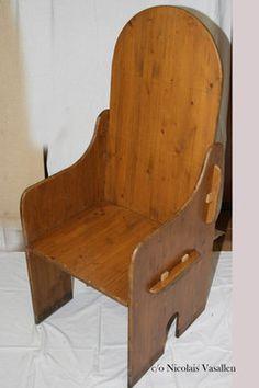 Holz Thron - Nicolais Vasallen