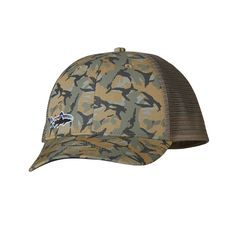 Patagonia LoPro Trucker Hat - The LoPro Trucker Hat has an organic cotton  bill to provide some shade and polyester mesh on the back crown to keep you  cool. 53f2f7186851
