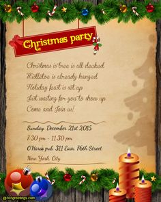 Christmas party invitation wording christmas party invitation christmas party invitation wording messages greetings and wishes messages wordings and gift ideas stopboris Images