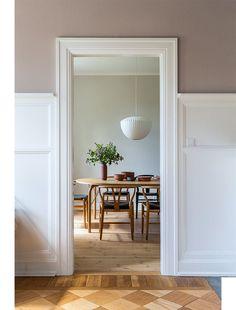 50 Best Modern Dining Room Design Ideas - Home Decorating Inspiration Dining Room Design, Scandinavian Home Interiors, Modern Dining Room, Room Design, Classic Dining Room, Home, Dining Room Curtains, Modern Kitchen Design, Neutral Dining Room Decor