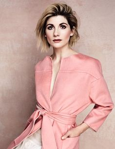 """On being the first woman to play the role of the Doctor in Doctor Who: """"""""It feels completely overwhelming; as a feminist, as a woman, as an actor, as a human, as someone who wants to continually push. Doctor Who, 13th Doctor, Jodie Whittaker Broadchurch, Hot Actors, Actors & Actresses, Jodi Whittaker, Sarah Jane Smith, Pure Beauty, Dr Who"""