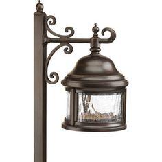 Progress Lighting Ashmore Antique Bronze Low Voltage 18-Watt (18W Equivalent) Incandescent Path Light