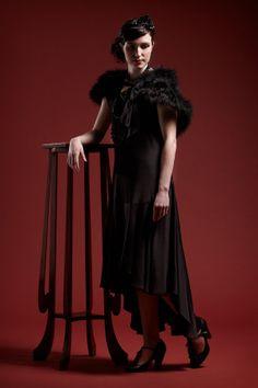 1920s style Clara Evening Dress by LylaofMelbourne on Etsy, $120.00