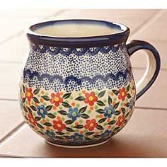Just the right size and feels great in my hands ~ My Favorite Mug, IsabellaCatalog.com