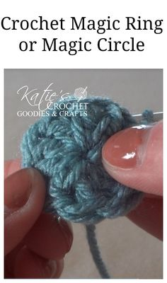 How To Start Amigurumi Magic Ring : When to use the chain circle or magic loop to start your ...
