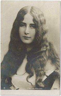 Cleo de Merode, mistress to Leopold II of Belgium