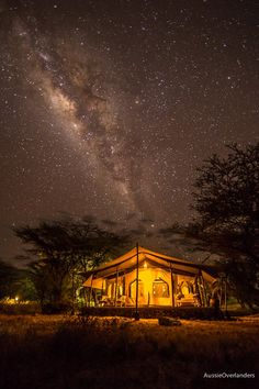 Starry starry nights at Joy's Camp (Photo credit - The Aussie Overlanders)