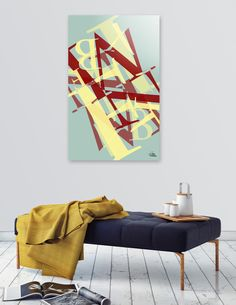"""""""Frustration"""" by George Barakoukakis. Archival quality print mounted on the back of a 1/4"""" thick, clear acrylic substrate. Polished edges. Includes wall hanging hardware. Manually…"""