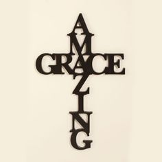 Amazing Grace - Script Cross on SonGear.com - Christian Shirts, Jewelry
