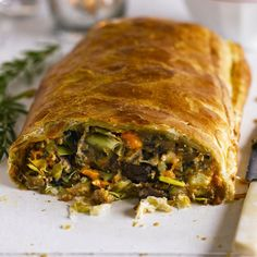 From pies and strudels to loaves and tarts, we've put together our favourite vegetarian centrepieces. Pack in festive flavours for a veggie Christmas dinner to make any meat-eater jealous.
