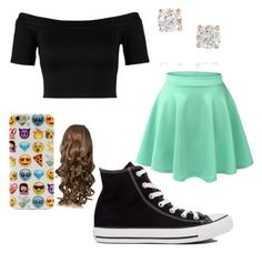 """""""mall outfit"""" by magy662520 ❤ liked on Polyvore featuring Miss Selfridge, Anita Ko and Converse"""