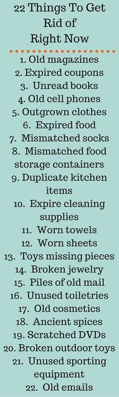 I'll agree with this except for the unread books! Read the unread books lol Konmari Methode, Moving Tips, How To Get, How To Plan, Spring Cleaning, Getting Organized, Cleaning Hacks, Cleaning Checklist, Cleaning Supplies