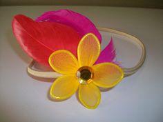 feather stretch headband