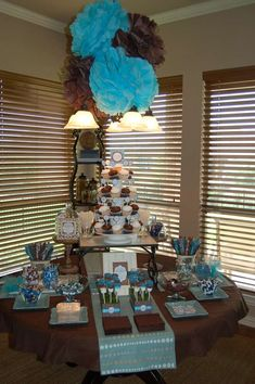 Birds Baby Shower Party Ideas | Photo 7 of 15 | Catch My Party