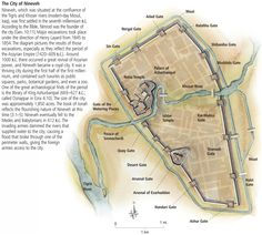 The ancient city of Nineveh, in modern-day Mosul,... - Maps on the Web