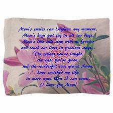 Mothers Day Azaleas Pillow Sham