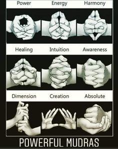 Mudras are hand gestures used during meditation that channel your energy flow towards specific goals. These are some mudras for healing and transformation Chakra Meditation, Chakra Healing, Kundalini Yoga, Indian Meditation, Meditation Art, Vipassana Meditation, Chakra Art, Chakra Mantra, Pranayama