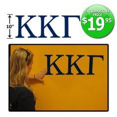 Greek Letter Wall Sticker