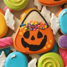 Have some candy with your cookies. Get the recipe from Sweet Sugar Belle.   - Delish.com