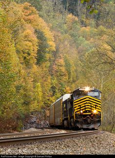RailPictures.Net Photo: NS 8100 Norfolk Southern GE ES44AC at Welch , West Virginia by Samuel Phillips