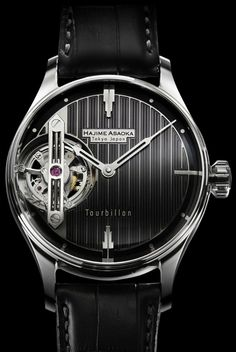 Hajime Asaoka- The Tourbillon. I think Howard Roarke might have worn this...