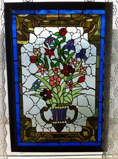 Stained Glass Flowers