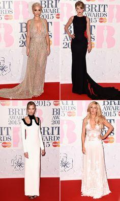 Brit Awards Best Dressed 2015: Taylor Swift, Kim Kardashian &More