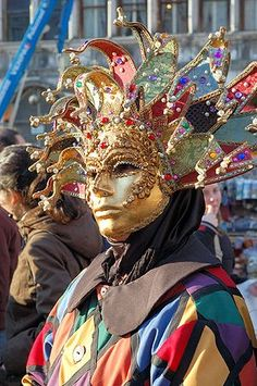 Carnival of Venice Italy 2013: Elaborate Masks and Costumes Prevail