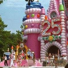 vintage disney world   Was there that year..remember the castle that way....80s