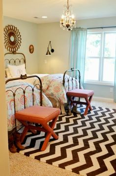 Shared #bedroom ideas for girls growing up