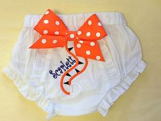 Personalized Embroidered Tiger Tail Baby by TheSassyLetter on Etsy, $15.00