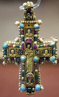 Byzantine Pectoral CROSS _____________________________ Reposted by Dr. Veronica Lee, DNP (Depew/Buffalo, NY, US)