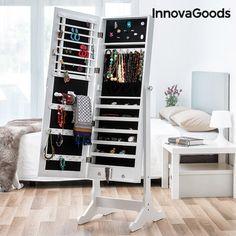 134,80€  Miroir Porte Bijoux XXL InnovaGoods
