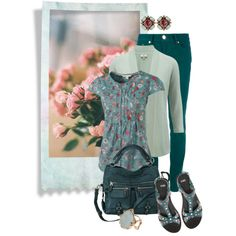 green roses by sagramora on Polyvore