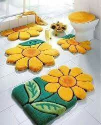 Incredible 28 Best Home Made Bath Mats Images In 2017 Bathroom Sets Home Remodeling Inspirations Genioncuboardxyz