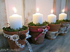 ...ultimissime dal forno...: 4♥ VASETTI DELL'AVVENTO... WAITING FOR CHRISTMAS
