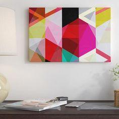 'Modern Art - View Through a Kaleidoscope' Graphic Art Print