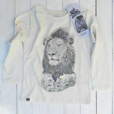 Lion T : lion of leisure - Off White Slub Jersey - www.lionofleisure.com