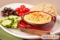 Hummus via @SparkPeople