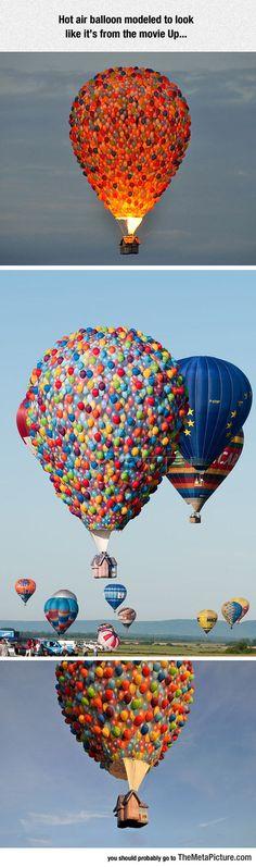 Up Hot Air Balloon