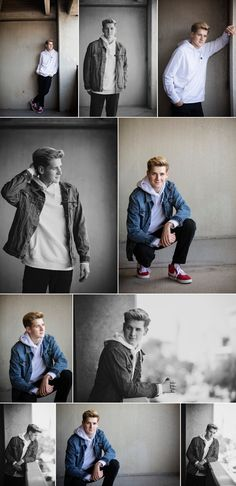Scroll down to see full senior sessions, product features, tips and tricks and MORE! Boy Senior Portraits, Senior Boy Poses, Senior Photography Poses, Mens Photoshoot Poses, Portrait Photography Men, Senior Guys, Sibling Poses, Flash Photography, Senior Session