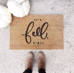 Fall Doormat- Welcome mat
