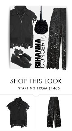 """""""Outfit for Rihanna Concert"""" by maranella ❤ liked on Polyvore featuring Sacai and Rihanna"""