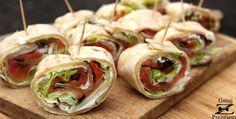 Gotuj z Prezesem: Tortilla z łososiem - extra przekąska na imprezę!