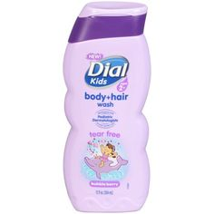 74144ecc49c Dial Kids Body + Hair Wash, Bubble Berry, 12 Ounce - Walmart.com