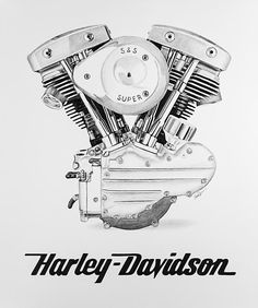 Shop for harley art from the world's greatest living artists. All harley artwork ships within 48 hours and includes a money-back guarantee. Choose your favorite harley designs and purchase them as wall art, home decor, phone cases, tote bags, and more! Tattoo Harley, Harley Davidson Tattoos, Harley Davidson Pictures, Harley Davidson Wallpaper, Classic Harley Davidson, Harley Davidson Logo, Harley Davidson Motorcycles, Motorcycle Tattoos, Motorcycle Art