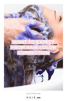 Color correcting your hair? Here is what to expect. Color Correction Hair, Salon Services, Cool Hair Color, About Hair, Hair Inspo, Loreal, Need To Know, How To Find Out, About Me Blog